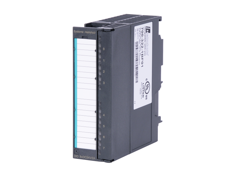 Helmholz DEA 300, Digital Output Module, 8 outputs (24 VDC; 2 A)