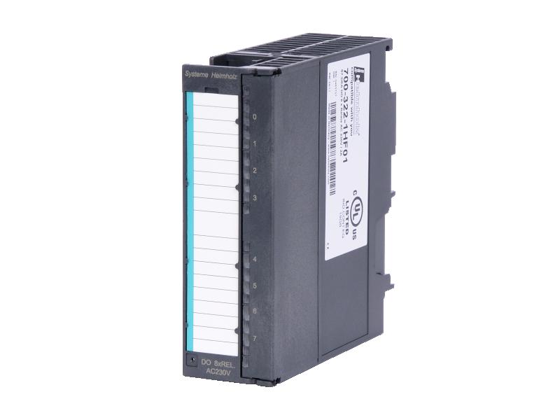 Helmholz DEA 300, relay, 2 A, 8 outputs