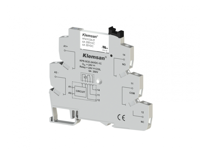 Klemsan 1C/O Plc Relay 24VDC ; 270814