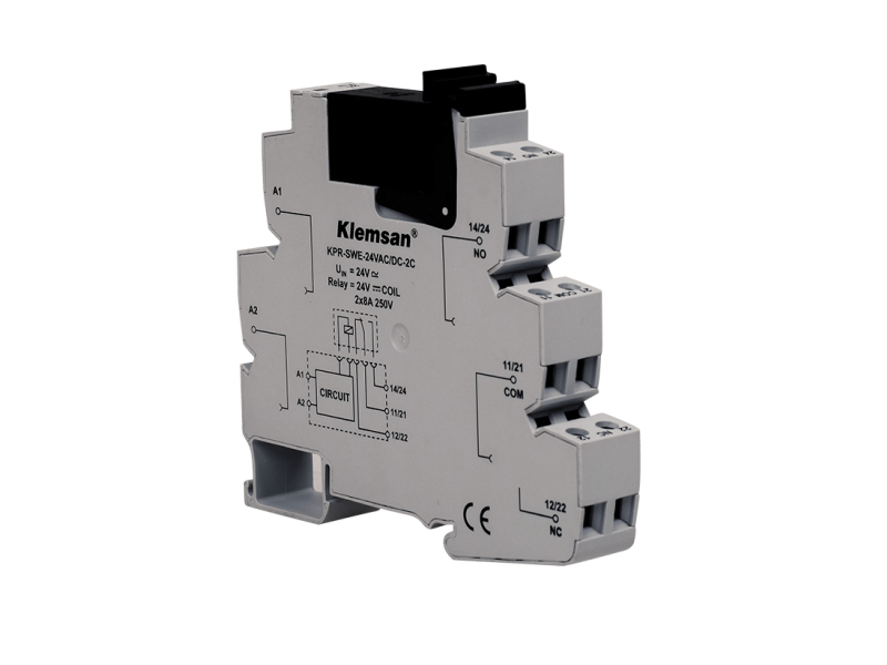 Klemsan 2 C/O PLC Relay 230VAC ;  272628