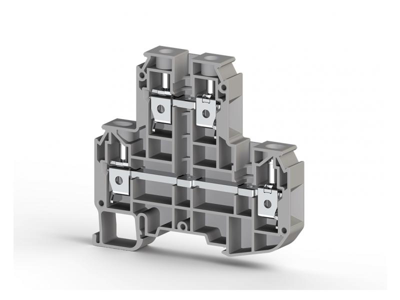 Klemsan Dvospratna redna stezaljka PIK N 10mm² ; 319909