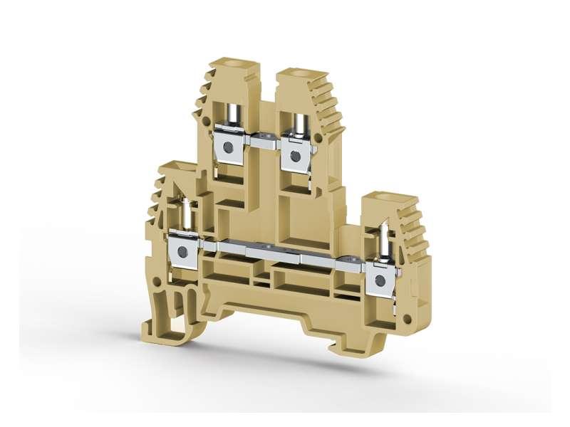 Klemsan Dvospratna redna stezaljka PIK N 4mm² ; 319109