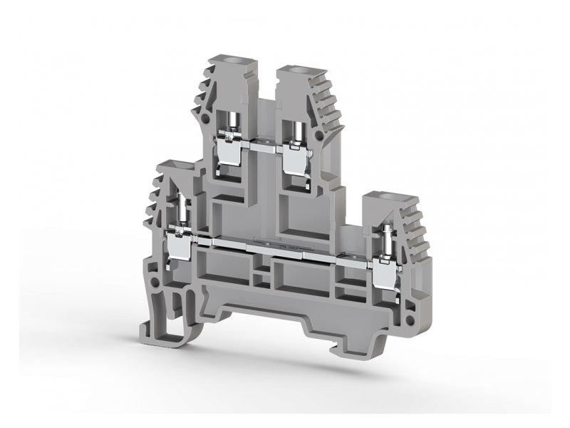 Klemsan Dvospratna redna stezaljka PIK N 2.5mm² ; 317109
