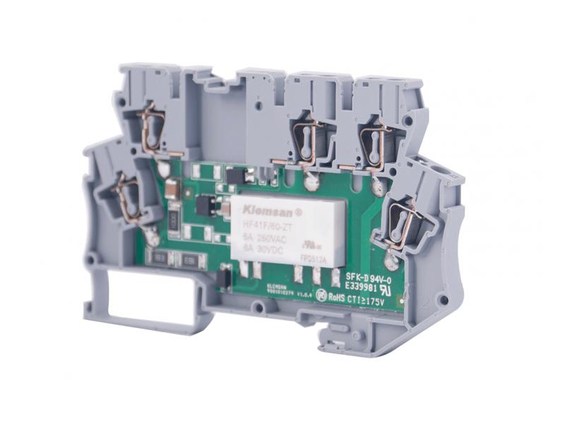 Klemsan Integrated Interface Relay Module  24VAC/DC ; 271524