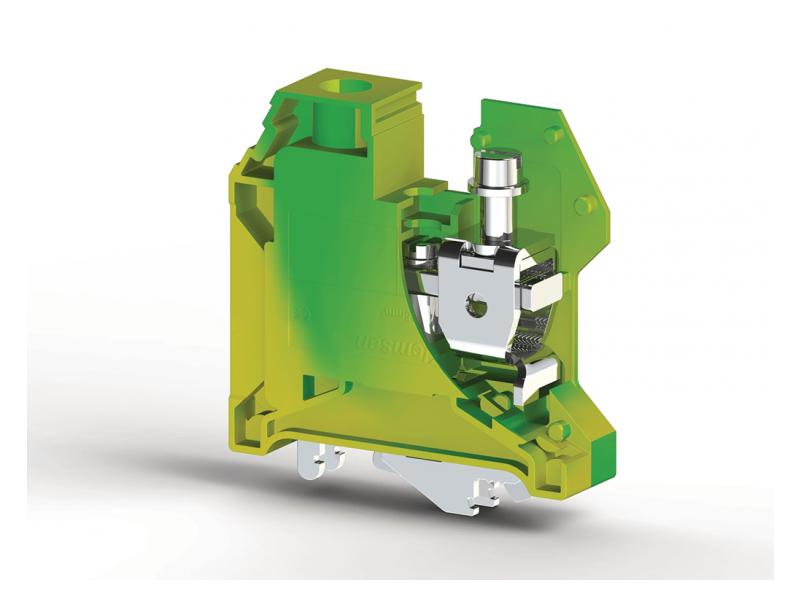 Klemsan Jednostruka redna stezaljka za provodnike uzemljenja AVK 35mm² ; 334240