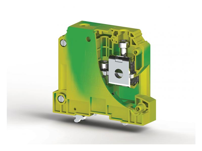 Klemsan Jednostruka redna stezaljka za provodnike uzemljenja AVK 50mm² ; 334190