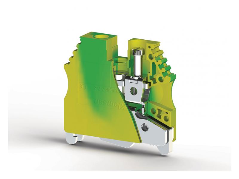 Klemsan Jednostruka redna stezaljka za provodnike uzemljenja AVK 6mm² ; 334460