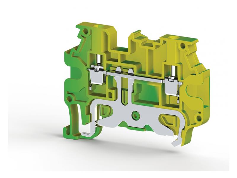 Klemsan Stezaljka sa duplom poprečnom vezom za provodnike  uzemljenja 2.5mm² ; 334280