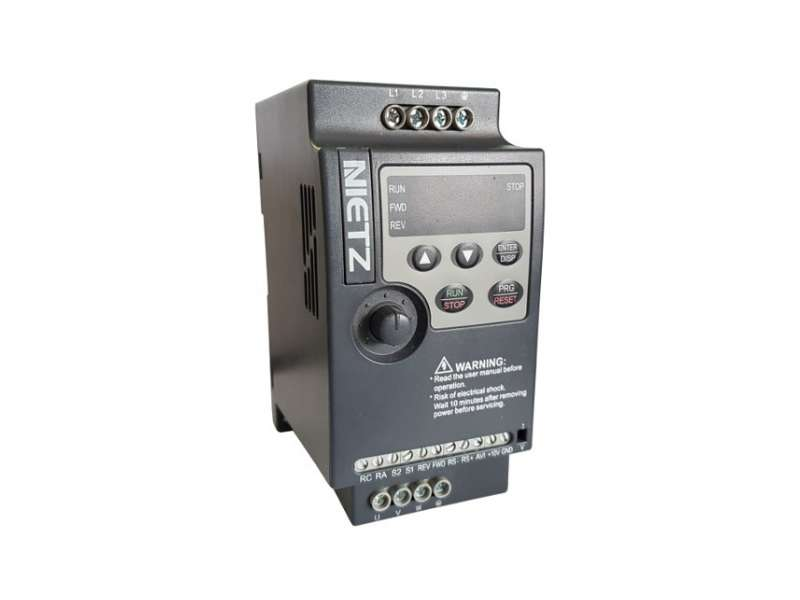 NIETZ NL1000 ; VFD 0.4kW SIngle Phase Input