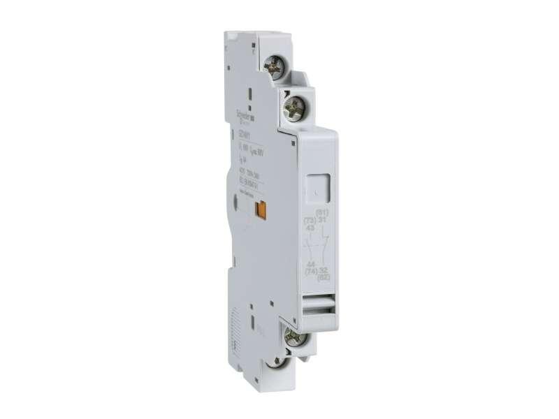 Schneider Electric Easypact TVS - pomoćni kontakt montaža na levoj strani - NO+NC; GZ1AN11