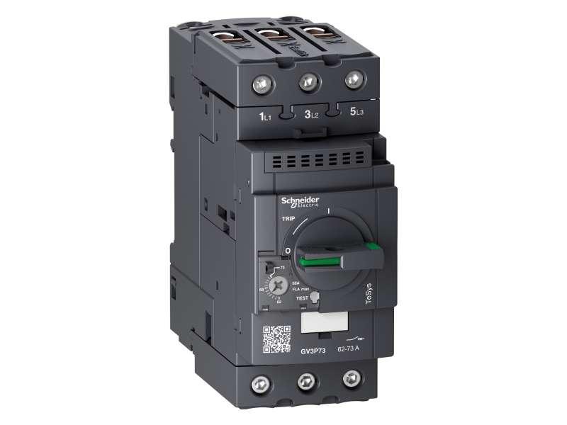 Schneider Electric Motor Prekidač, TeSys GV3, 3P, 62-73 A, termomagnetna zaštita, EverLink priključci; GV3P73