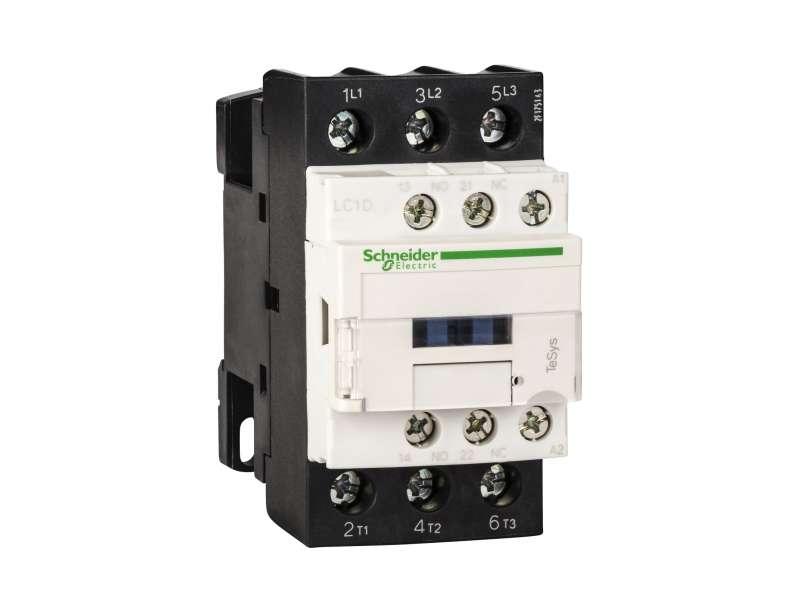 Schneider Electric TeSys D kontaktor - 3P(3 NO) - AC-3 - <= 440 V 25 A - 230 V AC kalem ; LC1D25P7