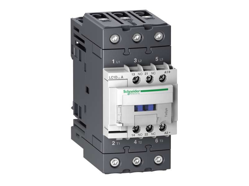 Schneider Electric TeSys D kontaktor - 3P(3 NO) - AC-3 - <= 440 V 65 A - 24 V DC standardni kalem ; LC1D65ABD