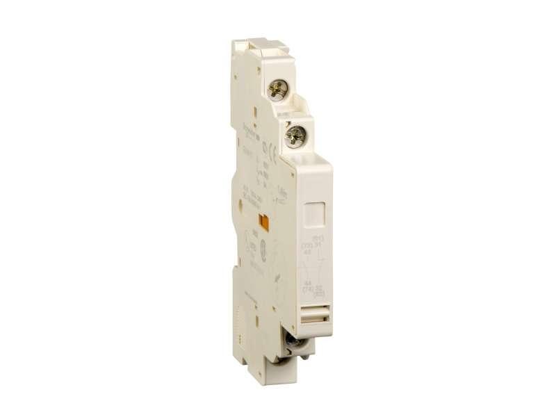 Schneider Electric TeSys GV2 & GV3 - pomoćni kontaktni blok - 1 NO + 1 NC; GVAN11