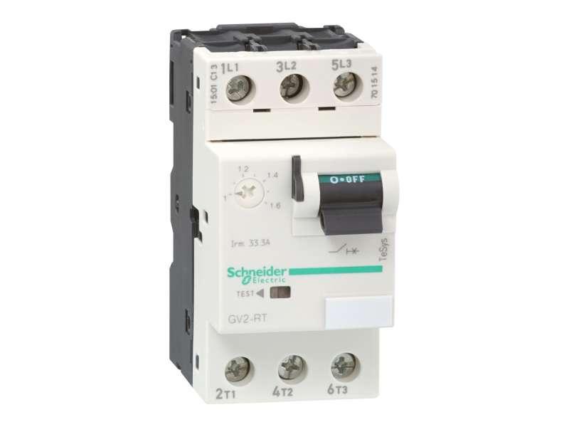 Schneider Electric TeSys GV2 - prekidač - termomagnetna zaštita - 13…18 A - vijčani priključak; GV2RT20
