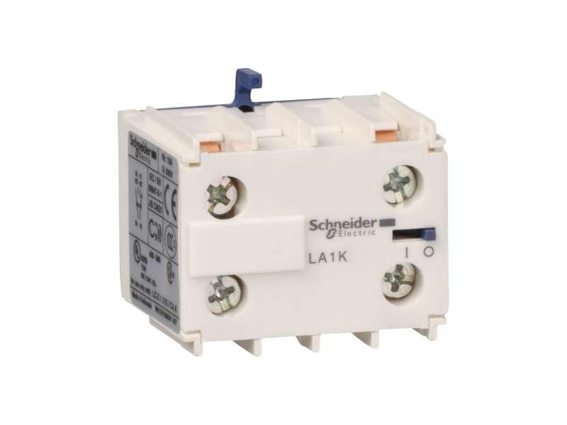 Schneider Electric TeSys K - pomoćni kontaktni blok - 2 NO - vijčani priključci; LA1KN20