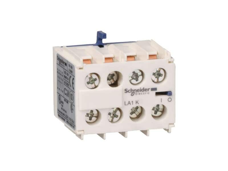 Schneider Electric TeSys K - pomoćni kontaktni blok - 4 NO - vijčani priključci ; LA1KN40