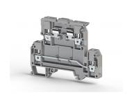Klemsan Dvospratna redna stezaljka za osigurač AVK 4 FS 4mm² ; 353309